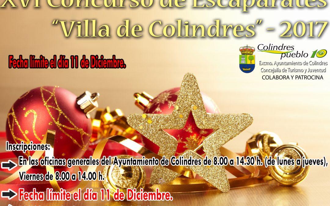 XVI CONCURSO DE ESCAPARATES VILLA DE COLINDRES