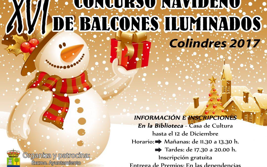XVI CONCURSO NAVIDAD DE BALCONES ILUMINADOS