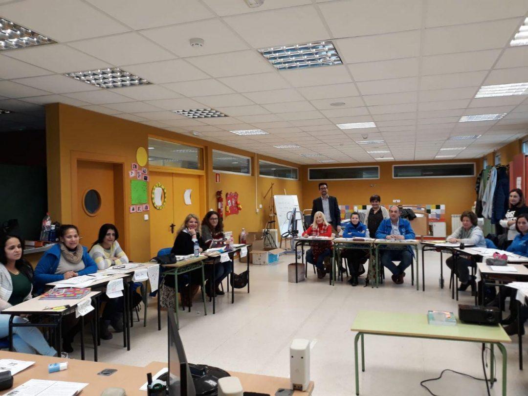Abierto el nuevo Centro de Formación y Empleo de Colindres habilitado en el antiguo colegio Los Puentes (rectificación)