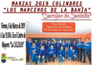 """MARZAS 2019 COLINDRES - """"LOS MARCEROS DE LA BAHÍA"""" """"Sarrujan de Santoña"""" @ Salida del Centro de Mayores La Calzada"""