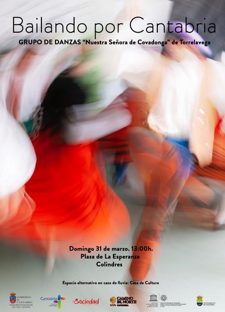 BAILANDO POR CANTABRIA – Domingo 31 de Marzo, 13.00 h.
