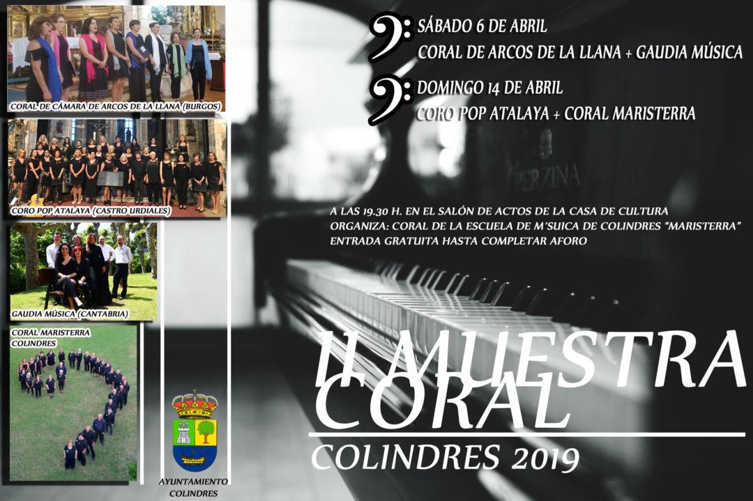 II MUESTRA CORAL VILLA DE COLINDRES – DOMINGO 14 DE ABRIL