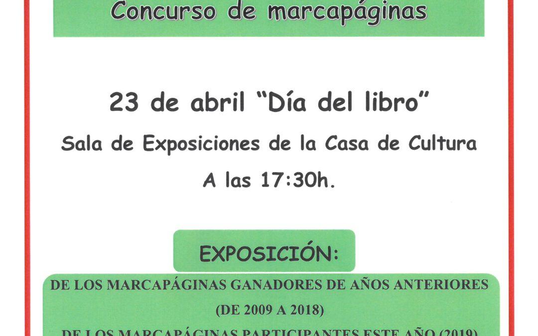 ENTREGA DE PREMIOS CONCURSO MARCAPÁGINAS