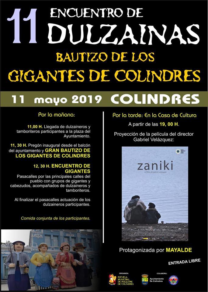 11 ENCUENTRO DULZAINAS – BAUTIZO DE LOS GIGANTES DE COLINDRES