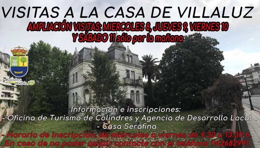 VIISTAS A LA CASA DE VILLALUZ