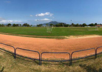 El Ayuntamiento de Colindres saca a licitación el contrato para remodelar las pistas de atletismo