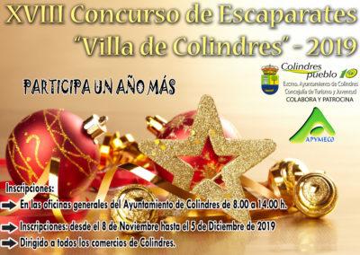 CONCURSO ESCAPARATES 2019