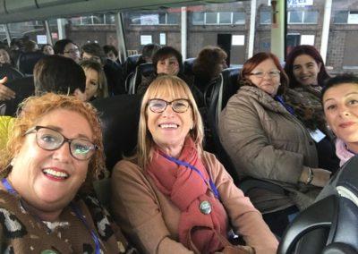 UN GRUPO DE REDERAS DE CANTABRIA ORIENTAL ACUDE AL CONGRESO DE LA RED NACIONAL DE MUJERES DE LA PESCA