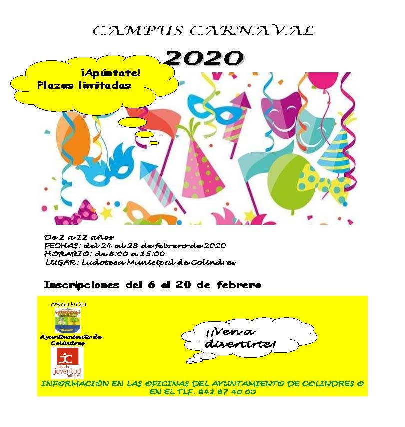 CAMPUS CARNAVAL 2020