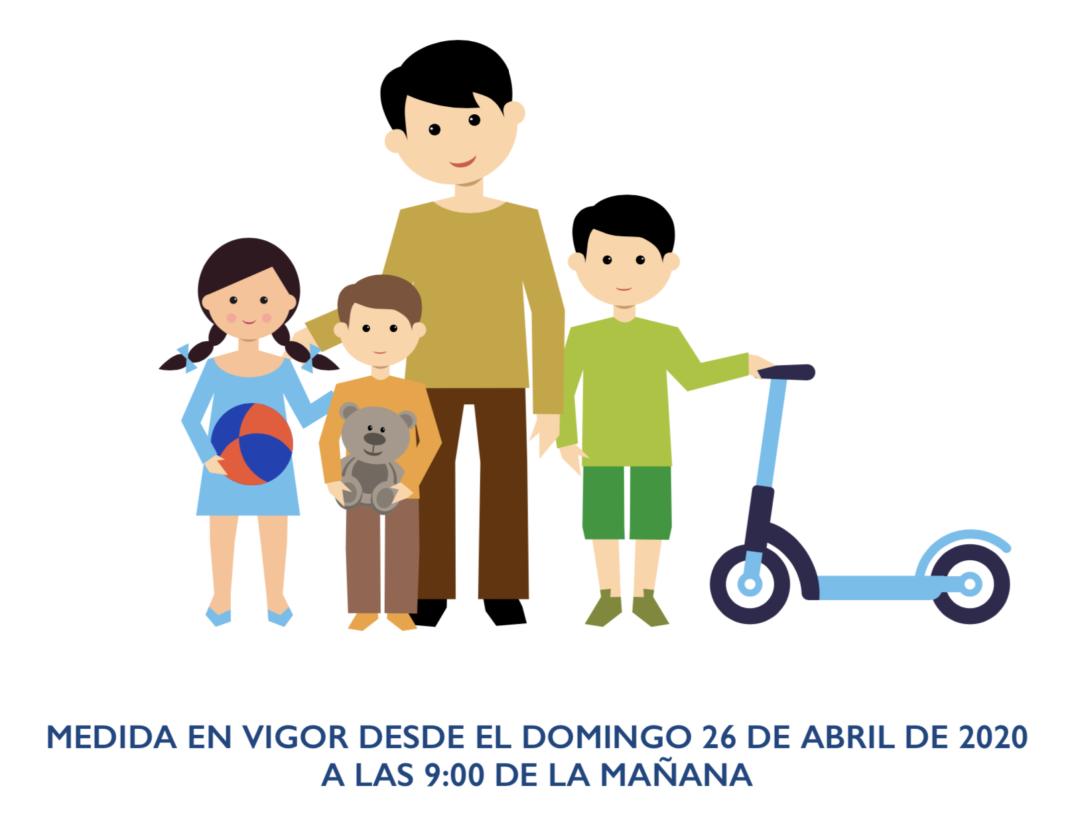 GUÍA DE BUENAS PRÁCTICAS EN LAS SALIDAS DE LA POBLACIÓN INFANTIL DURANTE EL ESTADO DE ALARMA