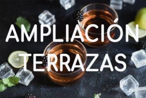 AMPLIACION TERRAZAS