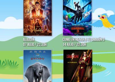 """Colindres estrena mañana el cine de verano con la proyección de """"Aladdin"""""""