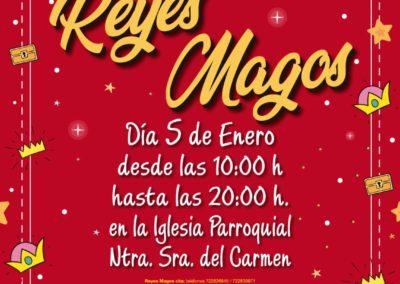 LOS REYES MAGOS VISITARÁN COLINDRES