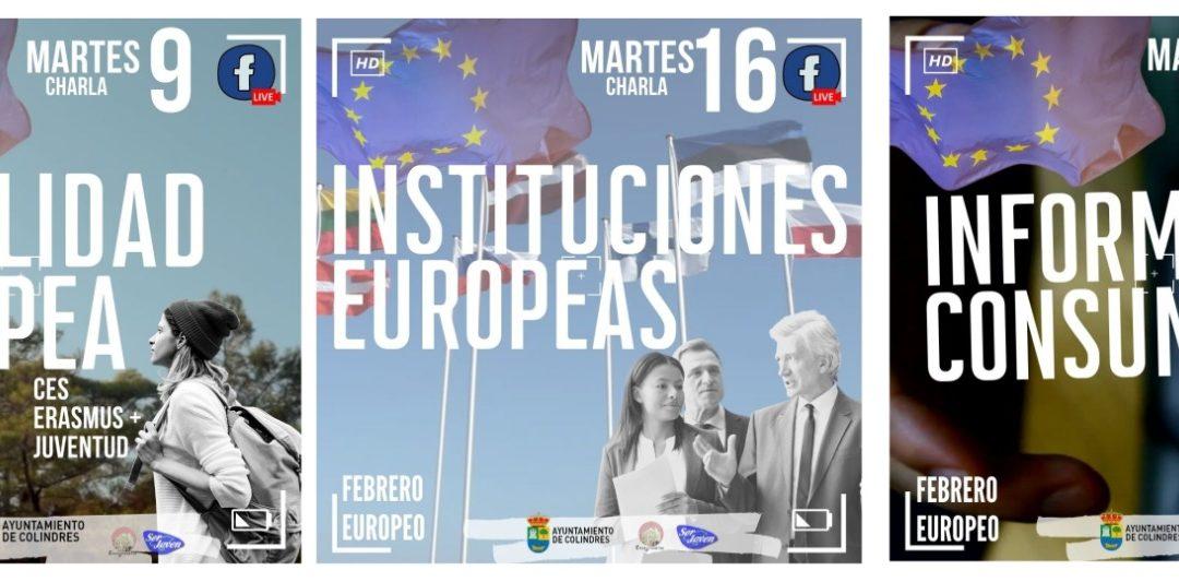 CHARLAS SOBRE LA UNIÓN EUROPEA EN COLINDRES