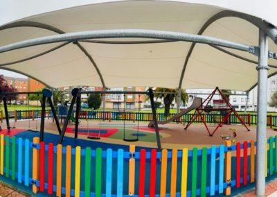 Colindres pone en funcionamiento el segundo parque infantil cubierto.