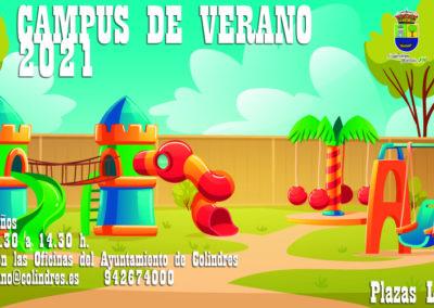 El Campus de Verano de Colindres arrancará el mes de julio